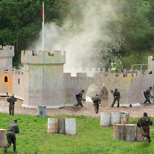 Crewe paintball