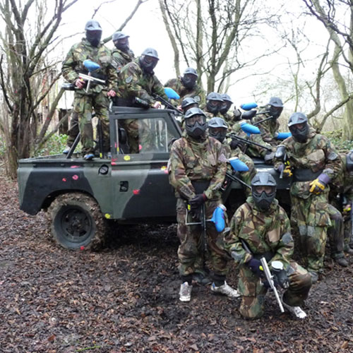 Liverpool paintball