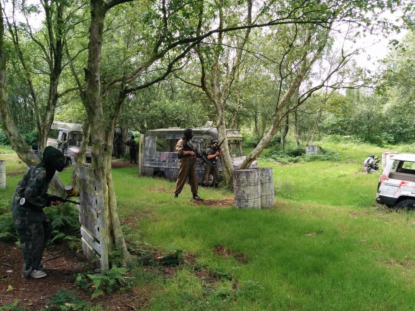 Wigan paintball